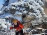 도봉산에서 눈꽃 축제가 열렸다....이브와 에덴동산