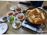 [보은식당] 별미해물칼국수백반-랜덤백반.김치찌개.식혜(충청북도.내북면.창리)