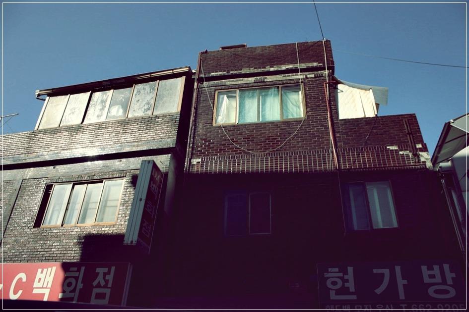 건물의 모습