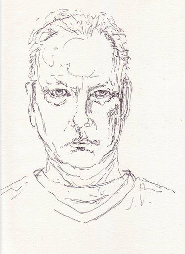 ����� ����� contour drawing