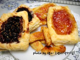 집에서 만든 딸기잼,오디잼으로 <딸기파이, 오디 파이>