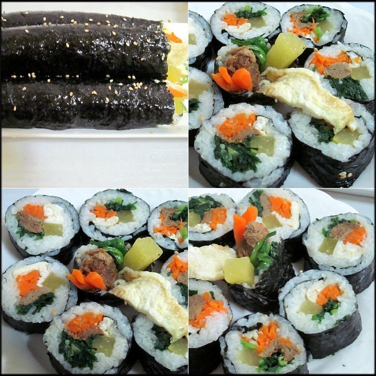 세상에서 젤 맛있는 김밥^^