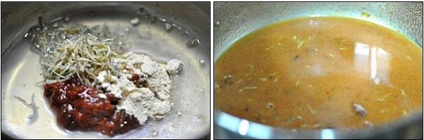 아삭아삭 오이맛 고추와 부드러운 멸치된장무침