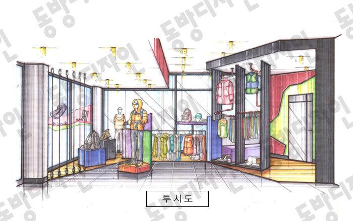 [실기/도면+투시도] 2013년 제4회 실내건축산업기사 자격증실기 ...