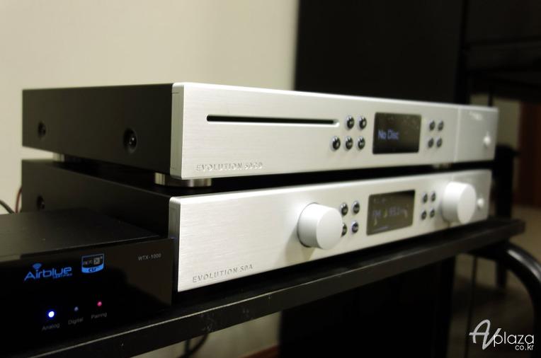 서초동 오디오설치, CREEK(크릭) Evolution 50A 튜너내장 인티앰프+ 에블루션 50CD ...