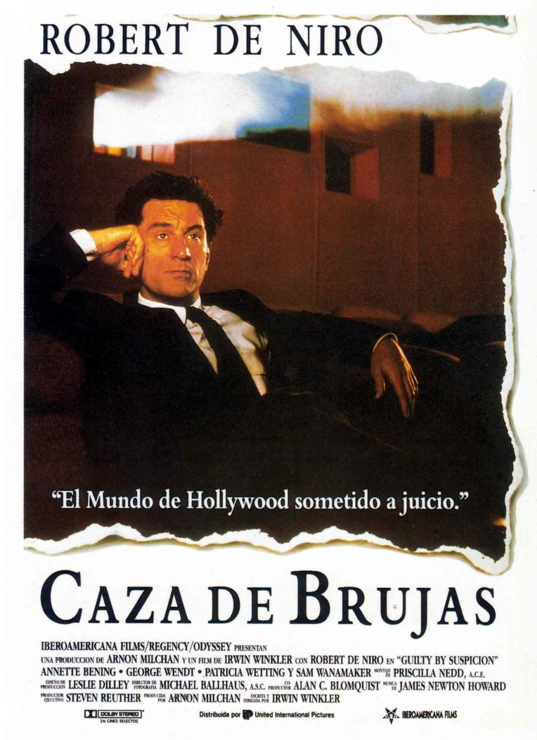 Caza de brujas (Guilty by Suspicion) ()