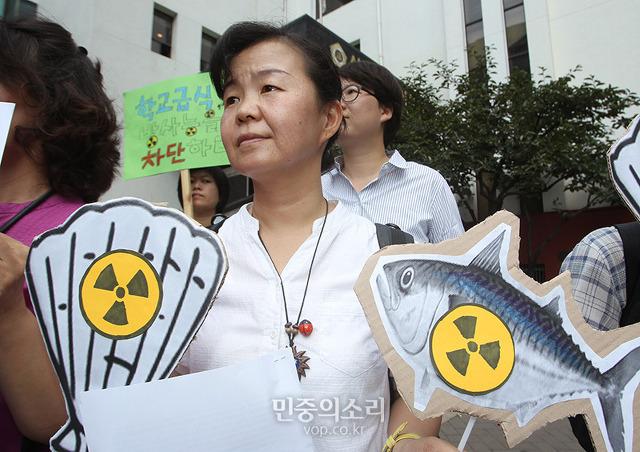 방사능 불안은 어시장뿐 아니다