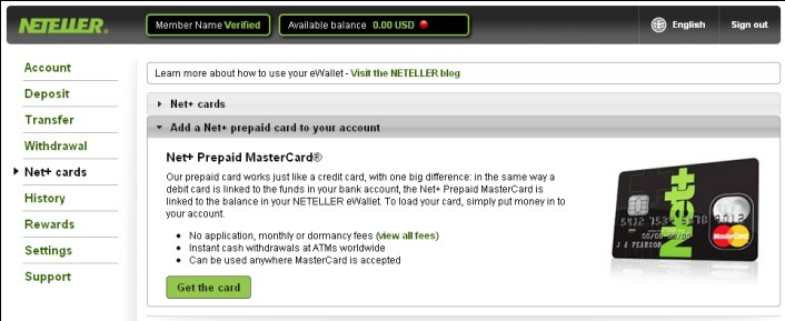 how to get net+ card