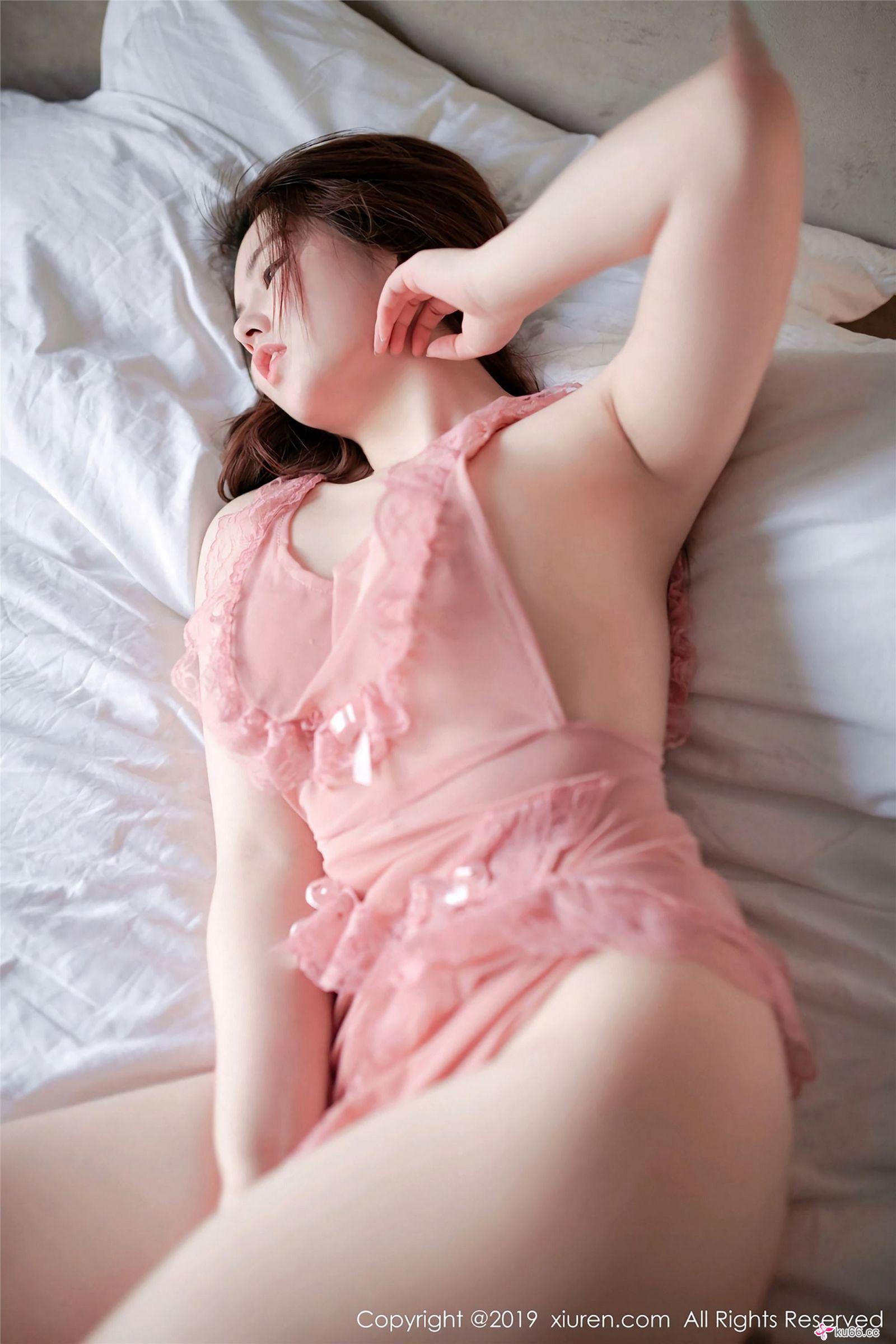 hot Chinese glamour in transparent lingerie