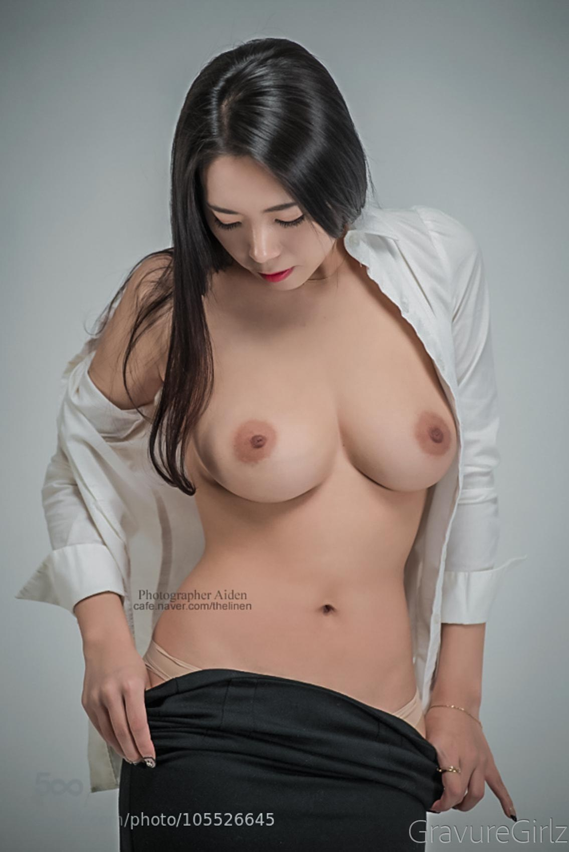 glamour Asian girl nude