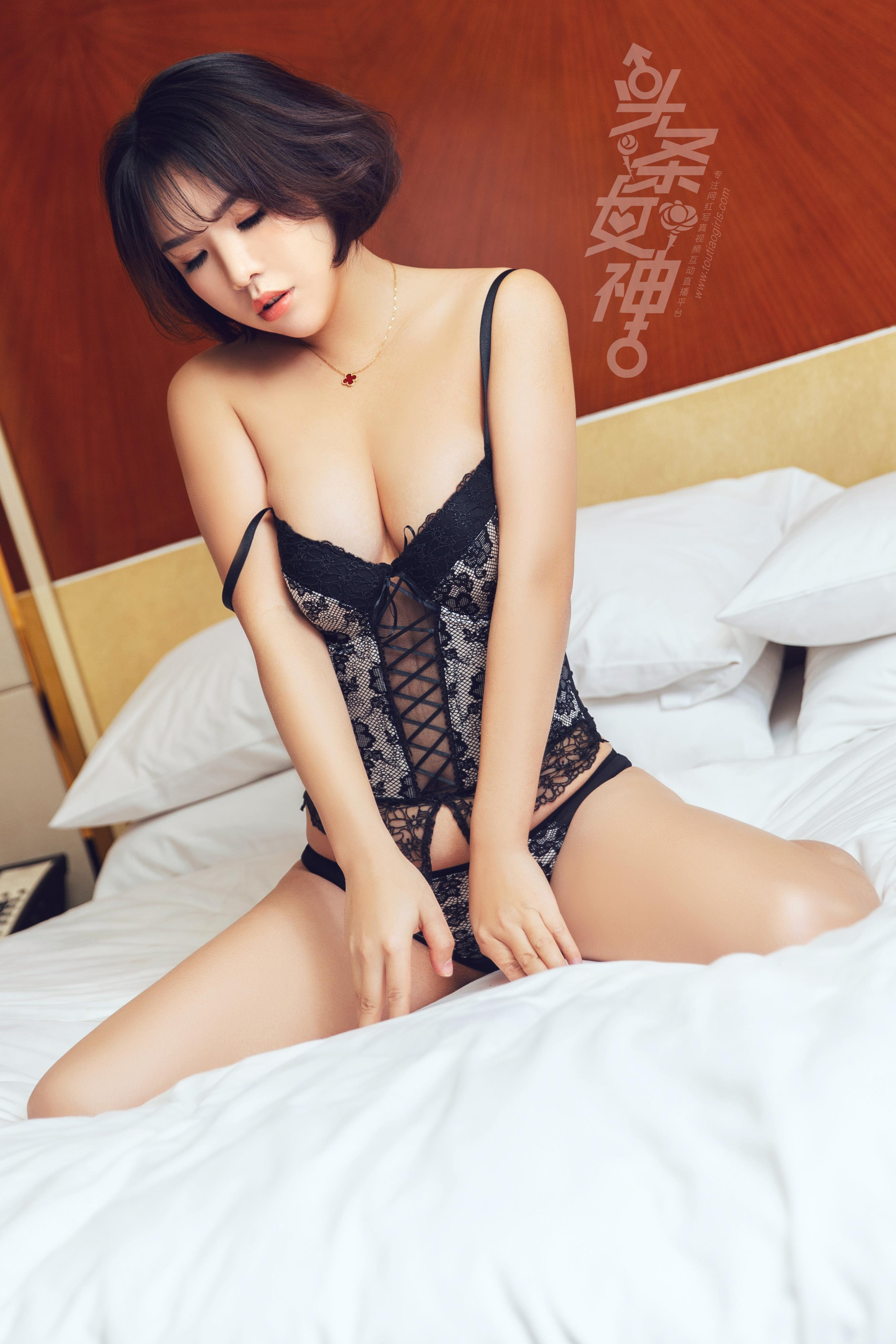hot Chinese woman in sexy pose